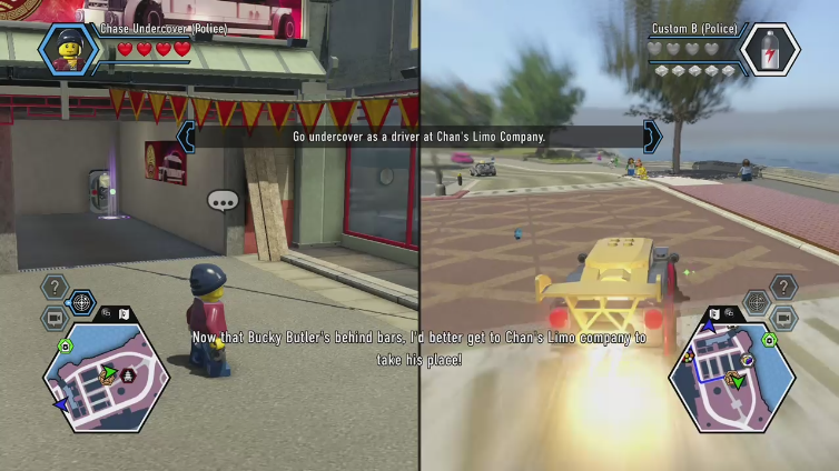 Ninjar0 playing LEGO CITY Undercover