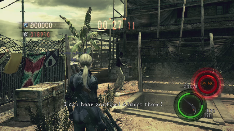 StK I playing Resident Evil 5