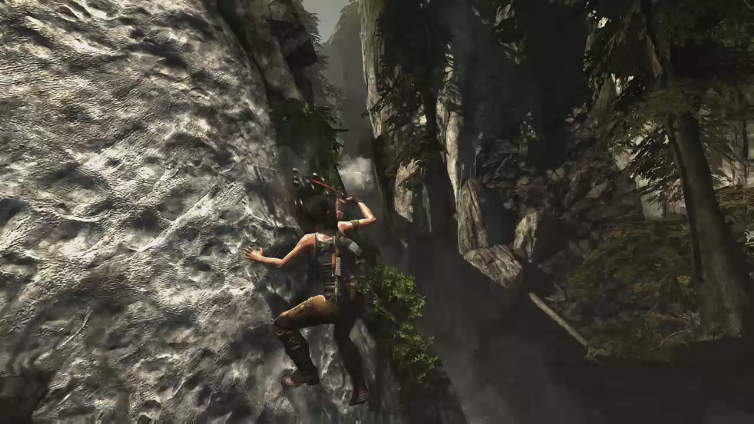 sabby boy playing Tomb Raider - Definitive Edition
