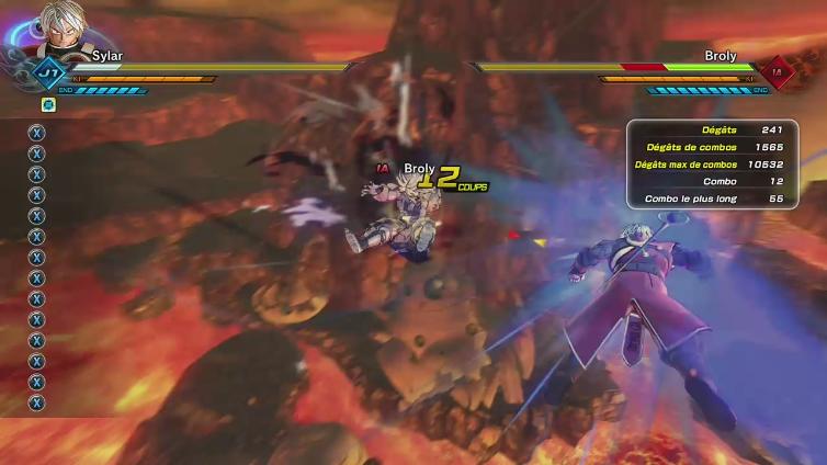 Sylarghz playing Dragon Ball Xenoverse 2