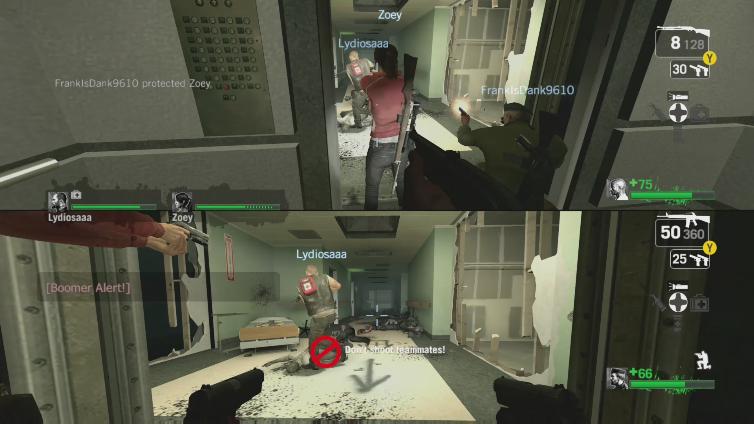 M I K 3 ID v playing Left 4 Dead