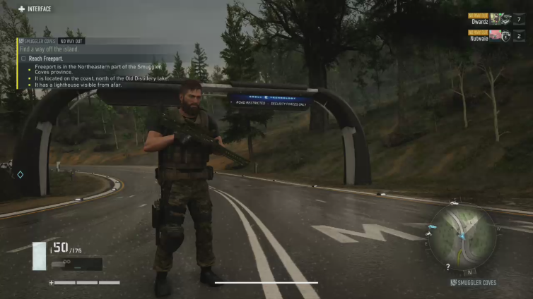 Dwardz playing Tom Clancy's Ghost Recon® Breakpoint Online Technical Test